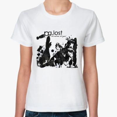 Классическая футболка pg.lost