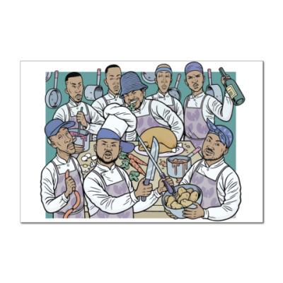 Наклейка (стикер) Wu-Tang Clan Cooking