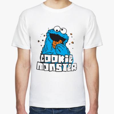 Футболка  Cookie Monster