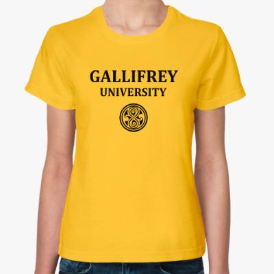 Женская футболка Gallifrey Academy