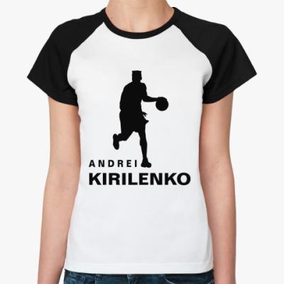 Женская футболка реглан Андрей Кириленко