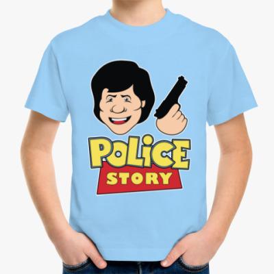Детская футболка Police story