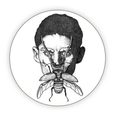 Костер (подставка под кружку) Франц Кафка