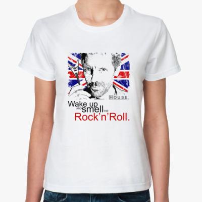 Классическая футболка House Rock