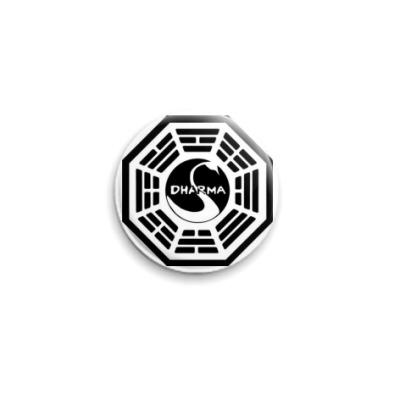 Значок 25мм Dharma Swan