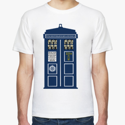 Футболка Superwholock