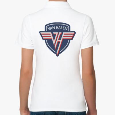 Женская рубашка поло Van Halen