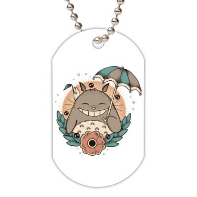Жетон dog-tag Smile Totoro