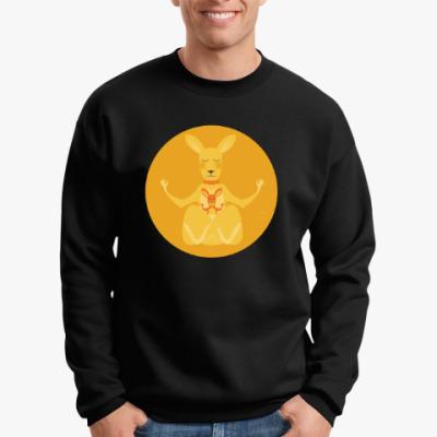 Свитшот Animal Zen: K is for Kangaroo