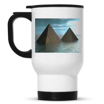 Кружка-термос Затопленные пирамиды