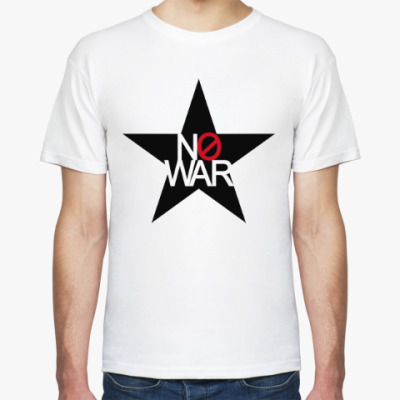 Футболка No war