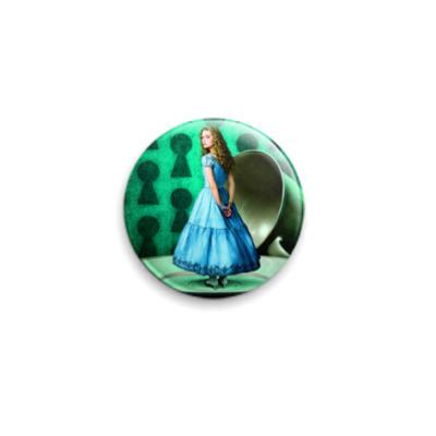 Значок 25мм  25 мм Алиса