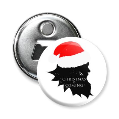 Магнит-открывашка Christmas is coming