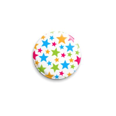 Значок 25мм  'Stars'