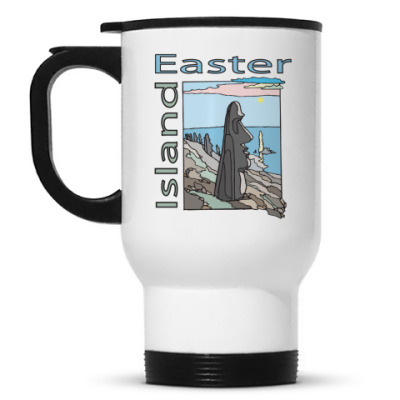 Кружка-термос Easter island (о. Пасхи)