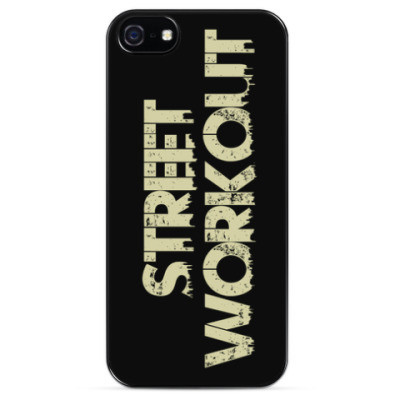 Чехол для iPhone Street Workout