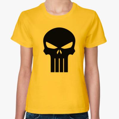 Женская футболка Punisher