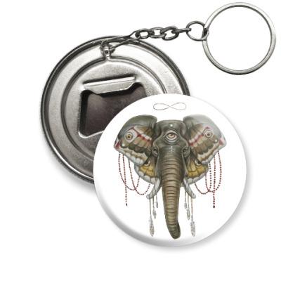 Брелок-открывашка Индийский слон