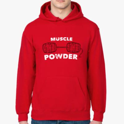 Толстовка худи Muscle Powder