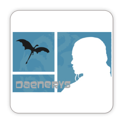 Костер (подставка под кружку) Daenerys