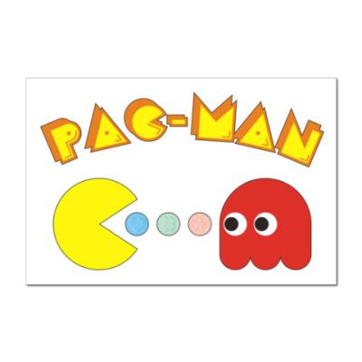 Наклейка (стикер) PAC-MAN