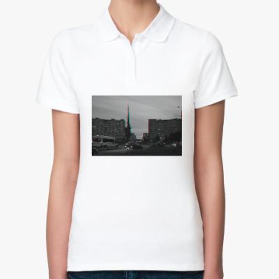 Женская рубашка поло Северодвинск