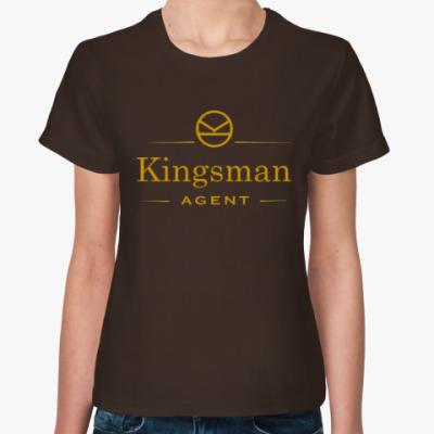 Женская футболка Для агента Kingsman