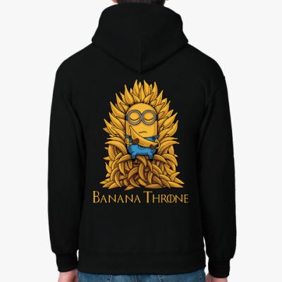 Толстовка худи Banana Throne