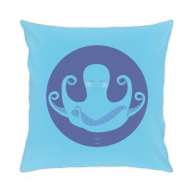 Подушка Animal Zen: O is for Octopus