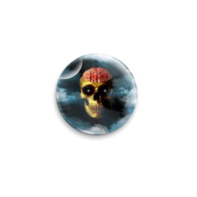 Значок 25мм Мозговая косточк
