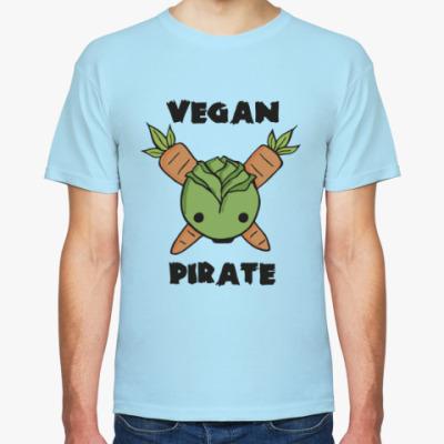 Футболка Веган пират