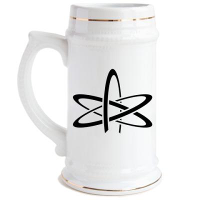 Пивная кружка Атеизм