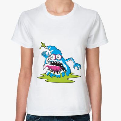 Классическая футболка  футболка Monster