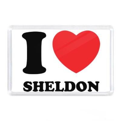 Магнит I Love Sheldon