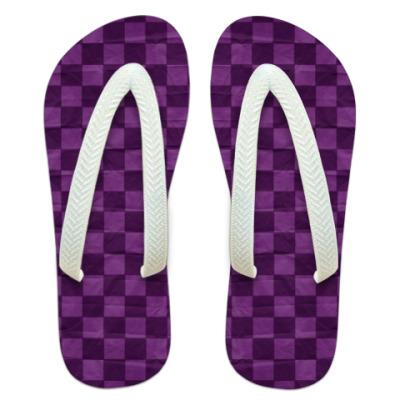 Шлепанцы (сланцы)  Purple Cells