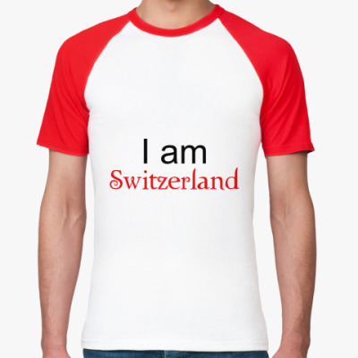 Футболка реглан I am Switzerland