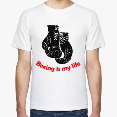 Футболка boxing is my life