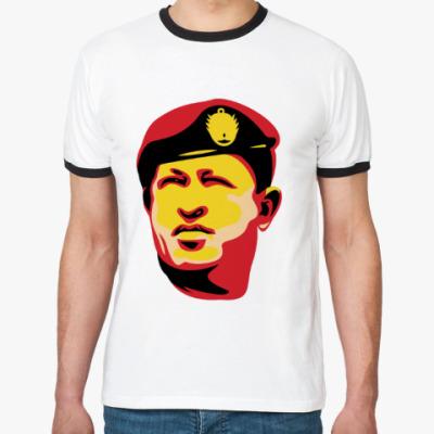 Футболка Ringer-T Уго Чавес