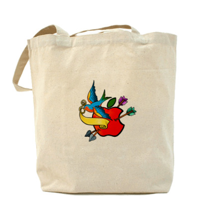 Сумка Холщовая сумка Apple flash
