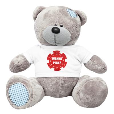 Плюшевый мишка Тедди покер