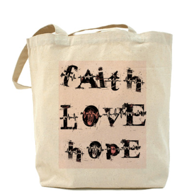 Сумка Faith LOVE Hope