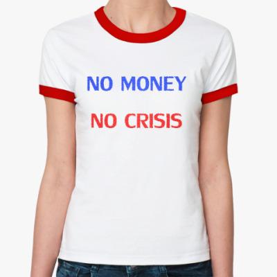 Женская футболка Ringer-T   Crisis