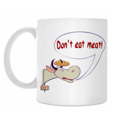 Кружка Don`t eat meat!