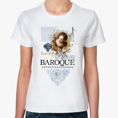 Классическая футболка BAROQUE