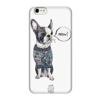Чехол для iPhone 6/6s бостон-терьер