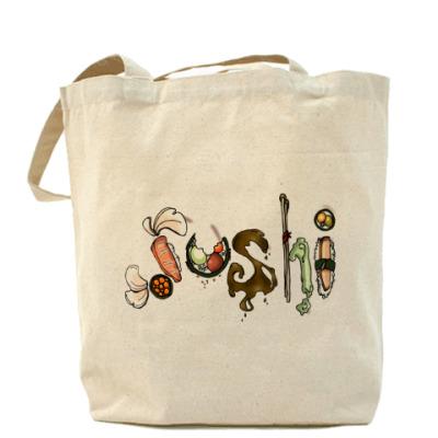 Сумка Суши Холщовая сумка