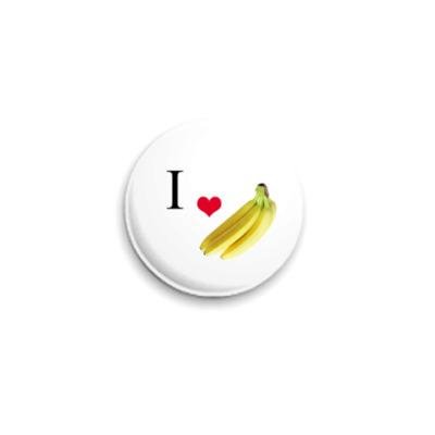 Значок 25мм Banana
