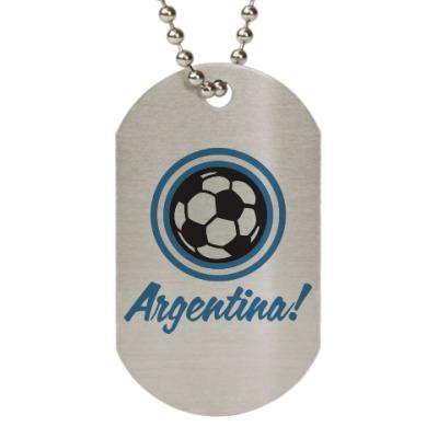 Жетон dog-tag Аргентина