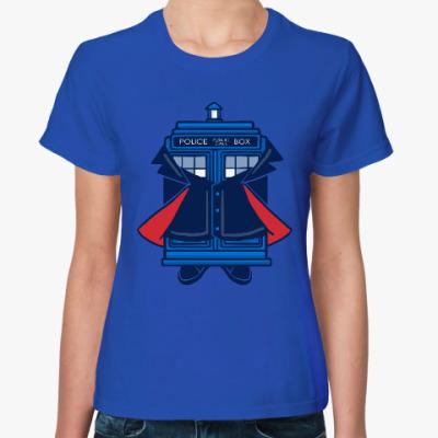 Женская футболка Двенадцатый Доктор