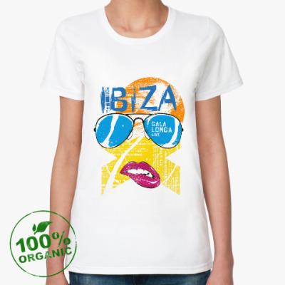 Женская футболка из органик-хлопка Ибица